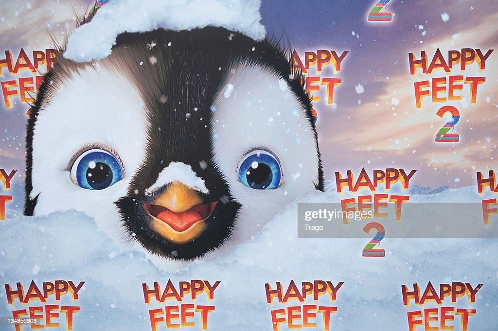 A general view of 'Happy Feet 2' Paris Premiere at Gaumont Capucines on December 4, 2011 in Paris, France.