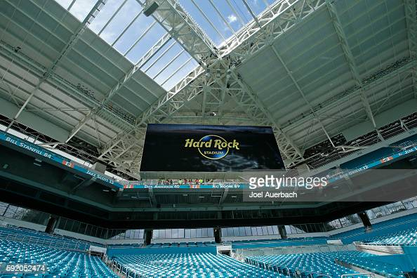 Hard Rock Stadium Announcement Pictures Getty Images