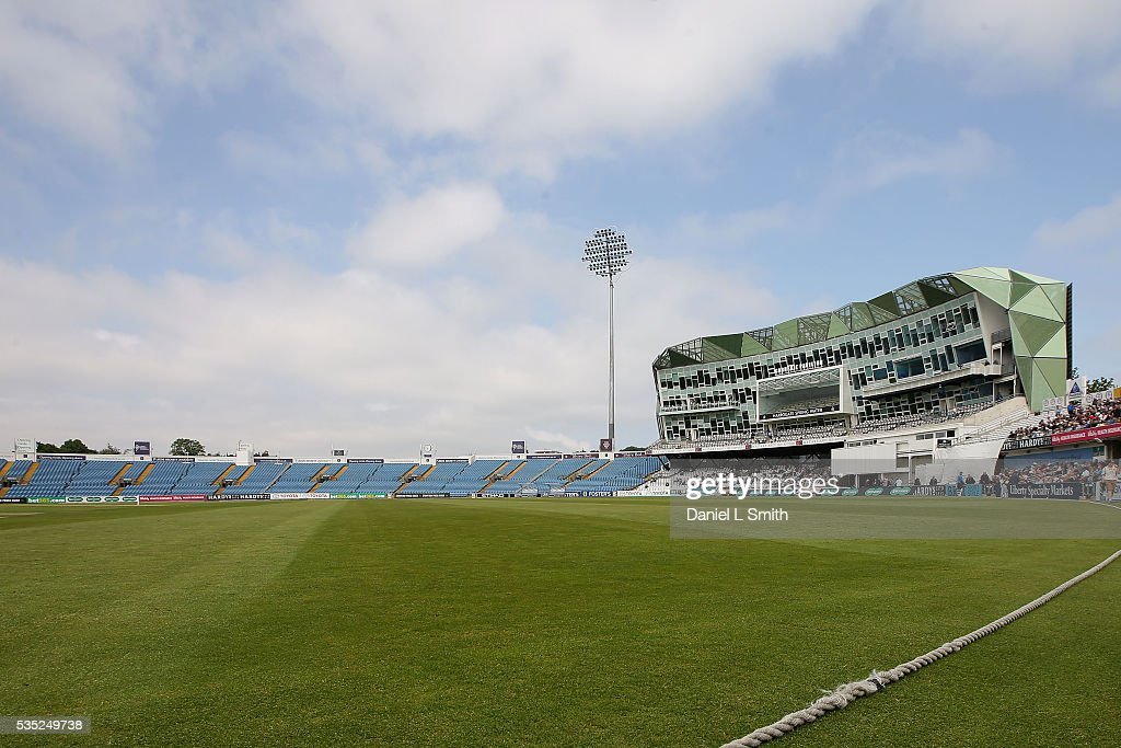 A general view of Headingley Cricket Ground prior to day one of the Specsavers County Championship: Division One match between Yorkshire and Lancashire at Headingley on May 29, 2016 in Leeds, England.