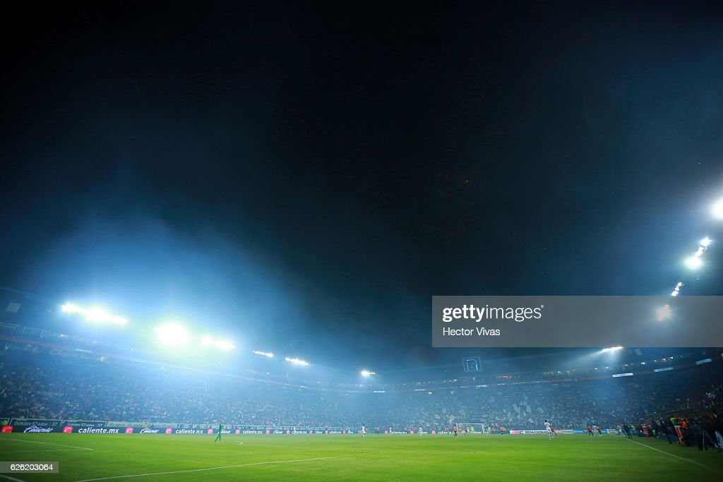 General view of Hidalgo stadium during the quarter finals second leg match between Pachuca and Necaxa as part of the Torneo Apertura 2016 Liga MX at Hidalgo Stadium on November 27, 2016 in Pachuca, Mexico.