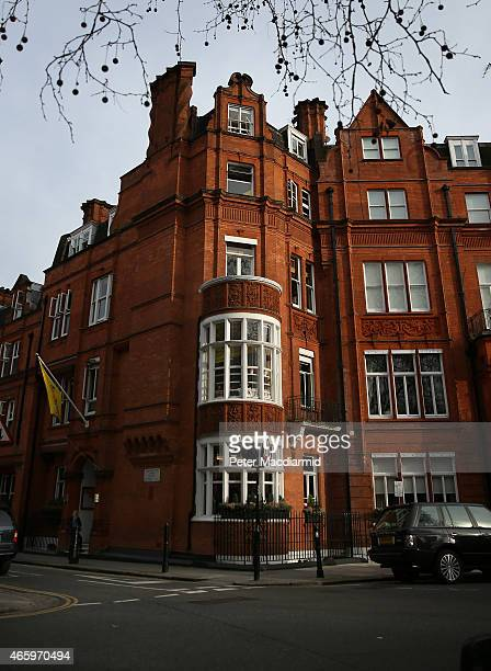 A general view of Hill House School near Knightsbridge on March 12 2015 in London England The school once attended by Prince Charles Prince of Wales...