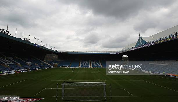 A general view of Hillsborough during the npower League One match between Sheffield Wednesday and Preston North End at Hillsborough Stadium on March...