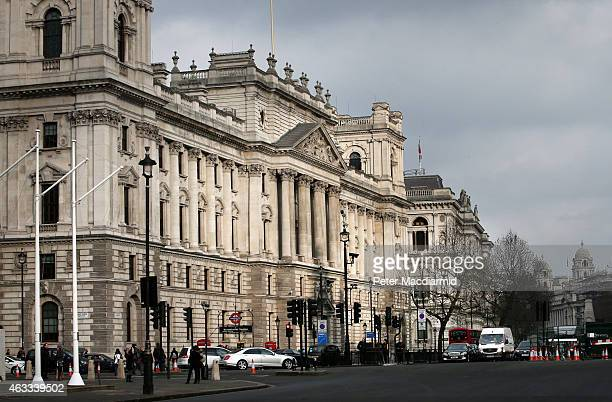 A general view of HM Revenue and Customs offices in Whitehall on February 13 2015 in London England French newspaper Le Monde has uncovered an email...
