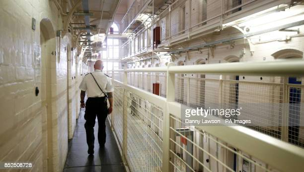 General view of HMP Barlinnie in Glasgow Scotland as the Prime Minister has insisted that the decision by the Supreme Court to dismiss challenges...