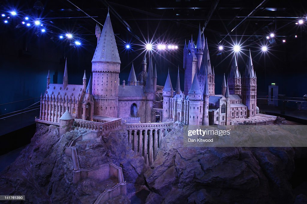 A general view of 'Hogwarts Castle' at the Harry Potter Studio Tour at Warner Brothers Leavesden Studios on March 23, 2012 in London, England. The studio, which includes the actual sets and special effects departments where the films were created and shot, goes on public display on March 31, 2012.