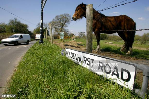 A general view of Holdenhurst Lane in the quiet Dorset village of Holdenhurst near Bournemouth where residents have won the right to rename their...
