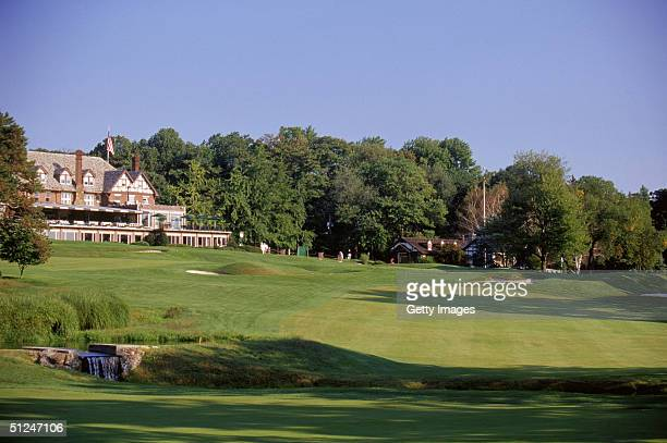 A general view of hole on January 1 2003 at the Baltusrol Golf Club in Springfield New Jersey