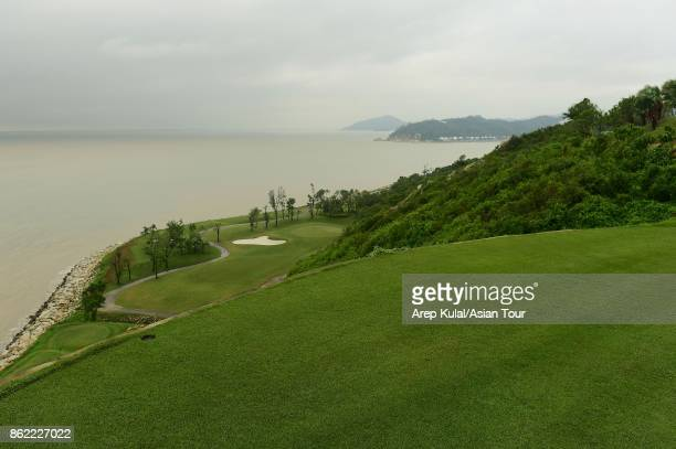 General view of holes 17th Macau Golf and Country Club on October 17 2017 in Macau Macau