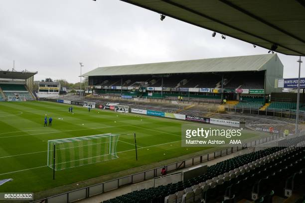 A General View Of Home Park Stadium Plymouth Argyle Prior To The Sky Bet