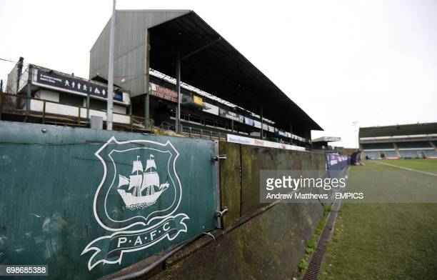 General view of Home Park home to Plymouth Argyle