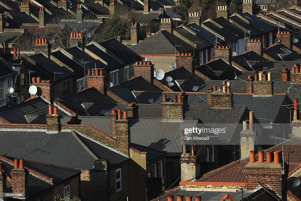 A general view of housing near Clapham on January 30, 2013 in London, England. According to a report from independent analysts Oxford Economics, the average mortgage deposit for first-time buyers in London, is likely to exceed £100,000 GBP by 2020.