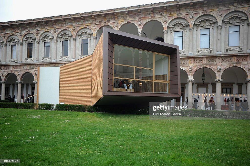 A general view of 'Hybrid Architecture & Design' at Universita' degli studi di Milano on April 9, 2013 in Milan, Italy.