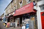 A general view of independant shops on St Johns Road Clapham on September 24 2013 in London England The Labour leader Ed Miliband in his party...