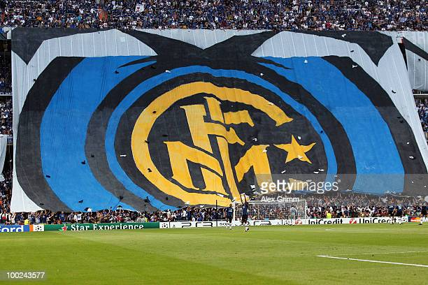 A general view of Inter Milan fans ahead of the UEFA Champions League Final match between FC Bayern Muenchen and Inter Milan at the Estadio Santiago...