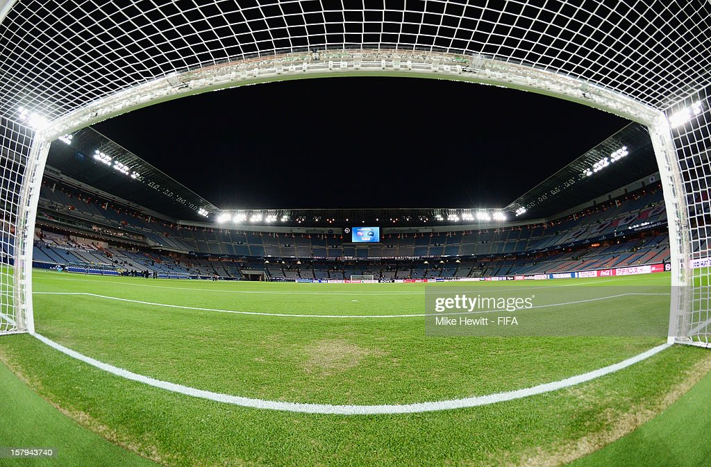 A general view of International Stadium Yokohama ahead of the FIFA Club World Cup match between Sanfrecce Hiroshima and Auckland City at International Stadium Yokohama on December 6, 2012 in Yokohama, Japan.