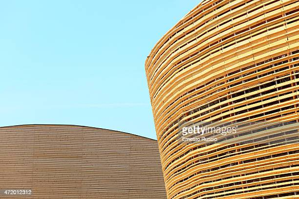 General view of Ireland pavilion during the Milano EXPO 2015 at Fiera Milano Rho on May 2 2015 in Milan Italy