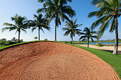 General view of Jian Lake Blue Bay Golf Course ahead of the Blue Bay LPGA on October 26 2015 in Hainan Island China