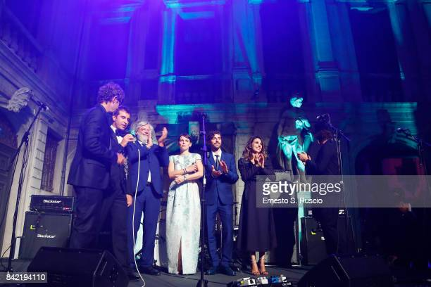 A general view of Keep On Shining Party Tiffany and Co For Lampoon Magazine at Conservatorio Di Venezia on September 2 2017 in Venice Italy