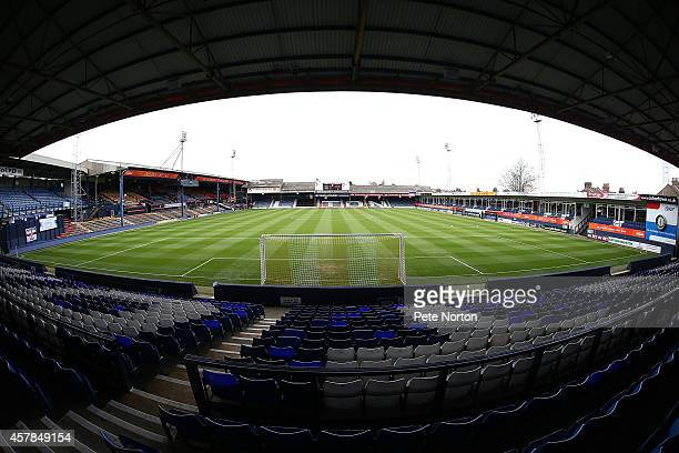 A general view of Kenilworth Road prior to the Sky Bet League Two match between Luton Town and Northampton Town at Kenilworth Road on October 25 2014...