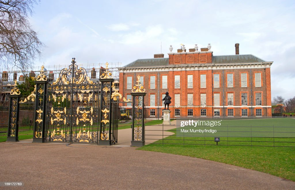 A general view of Kensington Palace on January 08 2013 in London England Prince William Duke of Cambridge and Catherine Duchess of Cambridge are...