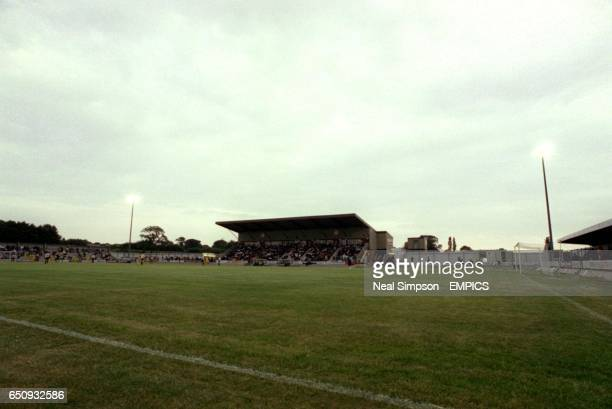 A general view of Keys Park home of Hednesford Town
