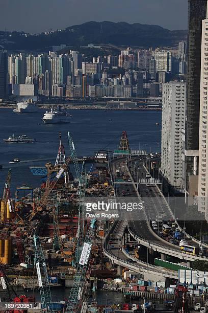 General view of Kowloon on May 31 2013 in Hong Kong