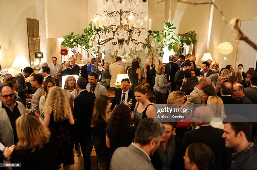 General view of LCDQ La Cienega Design Quarter Legends 2013 Time Capsule Gala at Therien & Co on May 8, 2013 in Los Angeles, California.