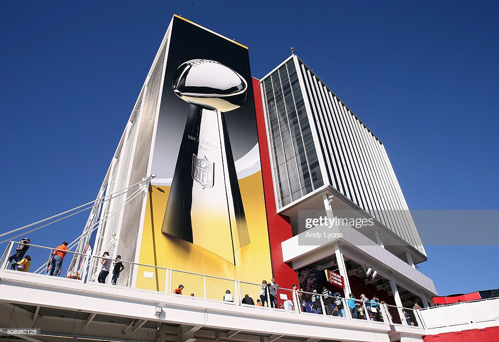 A general view of Levi's Stadium during Super Bowl 50 on February 7, 2016 in Santa Clara, California.