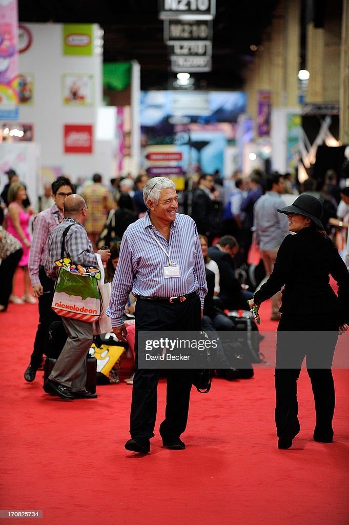 A general view of Licensing Expo 2013 is seen at the Mandalay Bay Convention Center on June 18, 2013 in Las Vegas, Nevada.