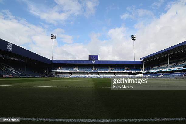 A general view of Loftus Road prior to the Sky Bet Championship match between Queens Park Rangers and Leeds United at Loftus Road on August 7 2016 in...