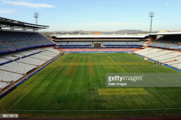 A general view of Loftus Versfeld Stadium on June 07 2009 in Pretoria South Africa
