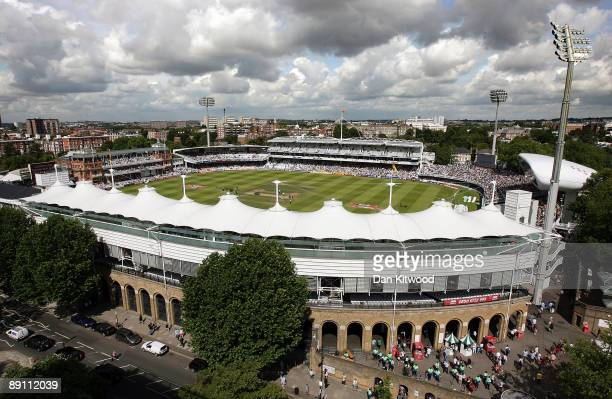 A general view of Lord's Cricket Ground on day five of the npower 2nd Ashes Test Match between England and Australia at Lord's on July 20 2009 in...