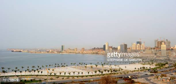 A general view of Luanda Central Business District taken on August 30 2012 The ruling Popular Movement for the Liberation of Angola party of...