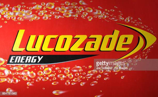 A general view of Lucozade energy soft drink