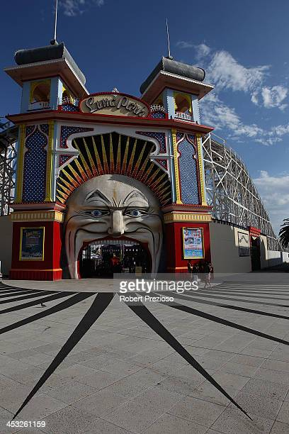 A general view of Luna Park during the Shane Warne Foundation Family Day at Luna Park on December 3 2013 in Melbourne Australia