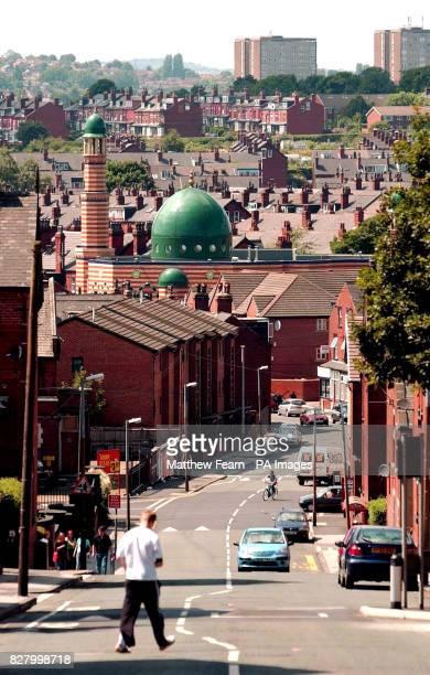 A general view of Makkah Masjid Mosque in Leeds' Brudenell Road