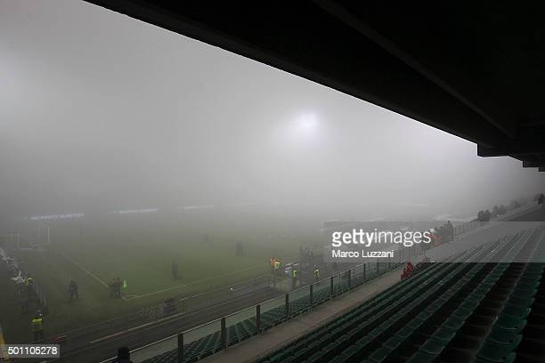 A general view of Mapei Stadium prior the Serie A match betweeen US Sassuolo Calcio and Torino FC suspended because of fog at Mapei Stadium Citta del...