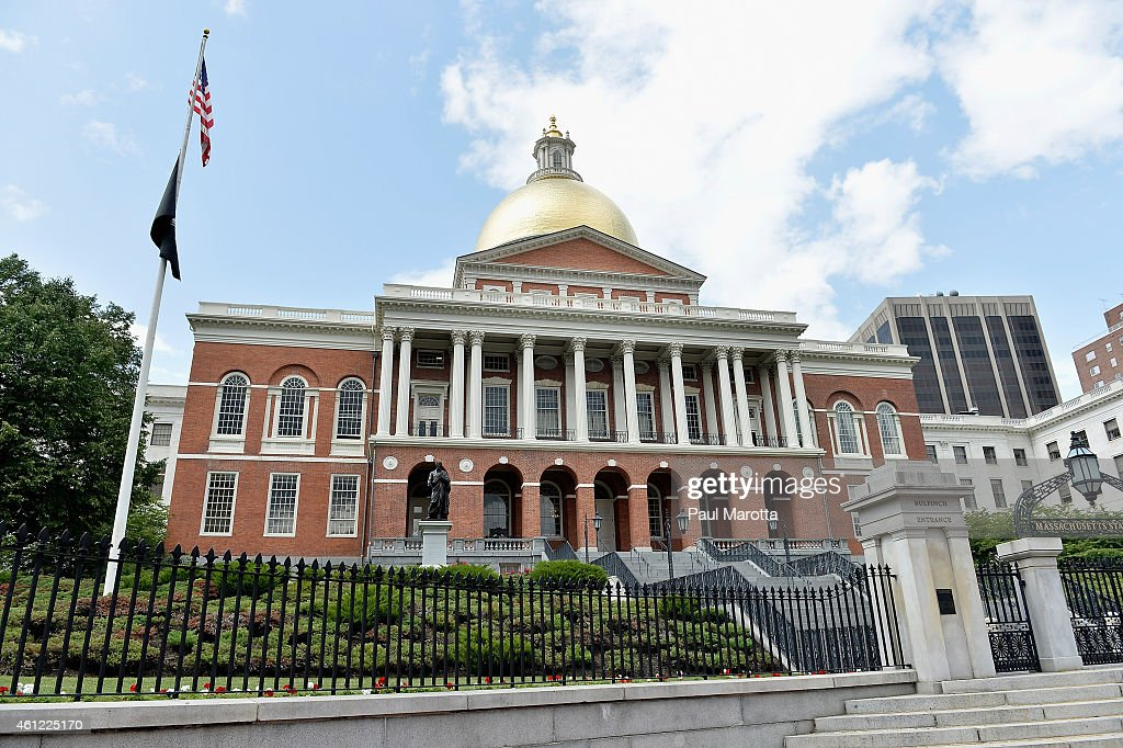 A general view of Massachusetts State House on January 9, 2015 in Boston. Boston has been chosen by the United States Olympic Committee to be the United States entry in the global competition to be the host city for the 2024 Olympics.