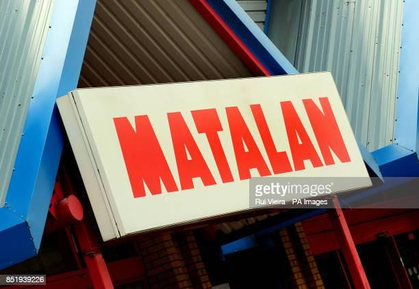 General view of Matalan in Tamworth