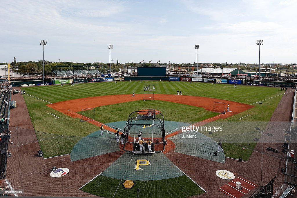 A general view of McKechnie Field just before the start of the Grapefruit League Spring Training Game between the Pittsburgh Pirates and the New York Yankees on March 17, 2013 in Bradenton, Florida.