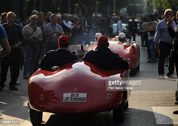 A general view of Mille Miglia 2014 1000 Miles Historic Road Race on May 15 2014 in Brescia Italy