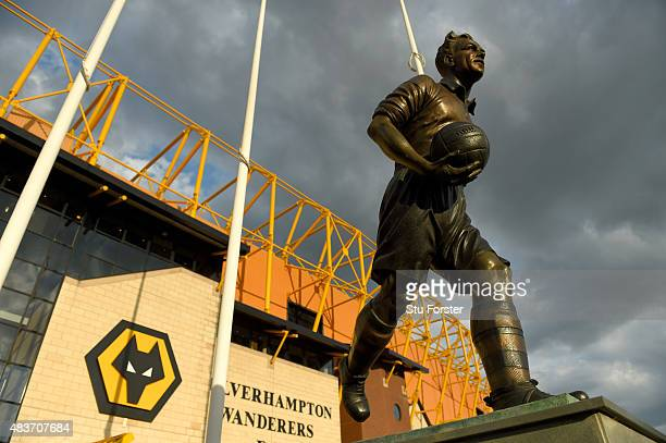A general view of Molineux before the Capital One Cup First Round match between Wolverhampton Wanderers and Newport County at Molineux on August 11...