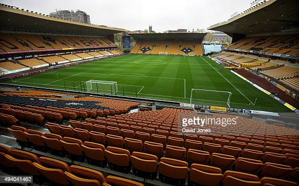 A general view of Molineux Stadium before the Sky Bet Championship match between Wolverhampton Wanderers and Middlesborough at Molineux Stadium on...