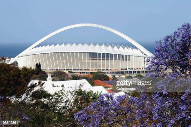 AFRICA SEPTEMBER 27 A general view of Moses Mabhida during Fifa inspection on September 27 2009 in Durban South Africa