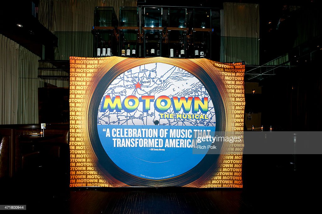 General view of 'MOTOWN THE MUSICAL' at the Pantages Theatre on April 30 2015 in Hollywood California