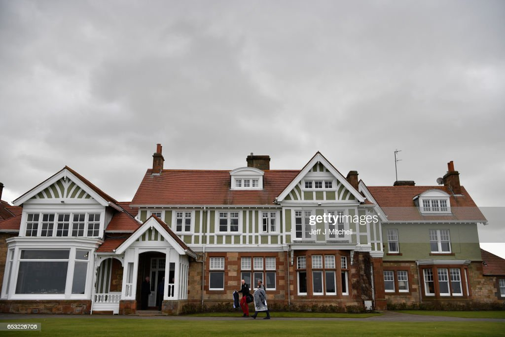A general view of Muirfield Golf Club on March 14, 2017 in Gullane, Scotland. Muirfield golf club members have voted to admit women members after the privately owned club voted eighty percent in favour in updating the membership policy.