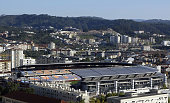 A general view of Municipal Stadium Coimbra November 18 2003 in Coimbra Portugal Coimbra is one of the host cities for the UEFA European Football...