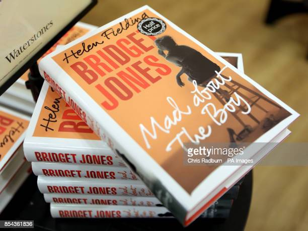 A general view of new book 'Bridget Jones Mad about the Boy' by Helen Fielding in store at Waterstones in Cambridge