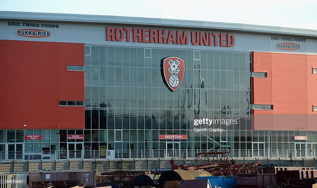 General view of New York Stadium on January 9, 2013 in Rotherham, United Kingdom.