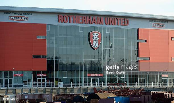 General view of New York Stadium on January 9 2013 in Rotherham United Kingdom